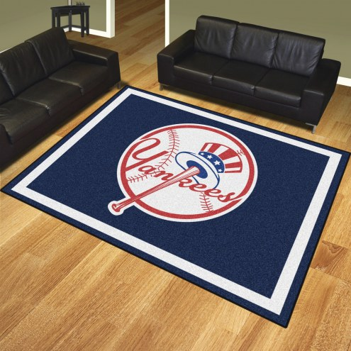 New York Yankees MLB 8' x 10' Area Rug