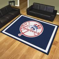 New York Yankees MLB 8' x 10' Area Rug
