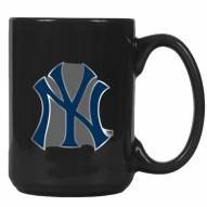 New York Yankees MLB 2-Piece Ceramic Coffee Mug Set