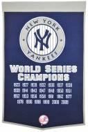 Winning Streak New York Yankees Major League Baseball Dynasty Banner