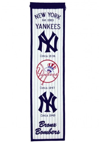 New York Yankees MLB Heritage Banner