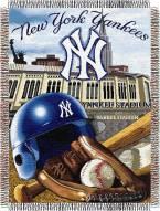 New York Yankees MLB Woven Tapestry Throw Blanket