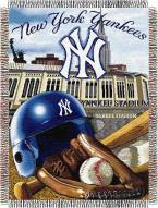 New York Yankees MLB Woven Tapestry Throw Blanket