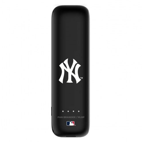 New York Yankees mophie Power Boost Mini Portable Battery