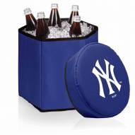 New York Yankees Navy Bongo Cooler