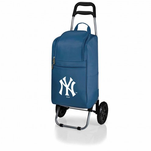 New York Yankees Navy Cart Cooler