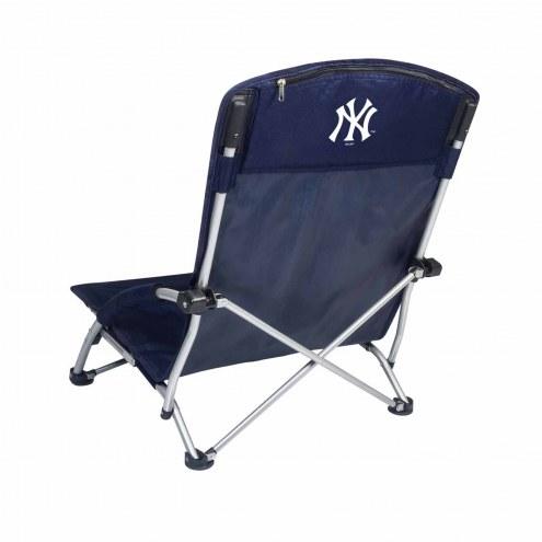 New York Yankees Navy Tranquility Beach Chair