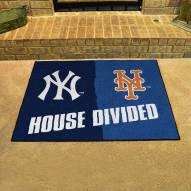 New York Yankees/New York Mets House Divided Mat