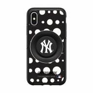 New York Yankees OtterBox Symmetry Polka Dot PopSocket iPhone Case
