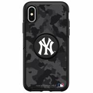 New York Yankees OtterBox Urban Camo Symmetry PopSocket iPhone Case