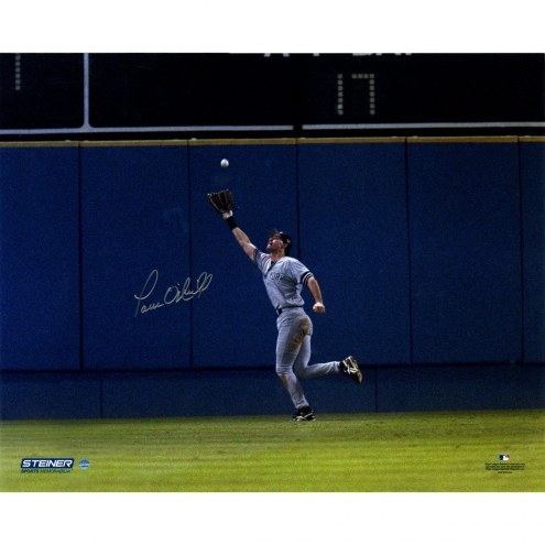 New York Yankees Paul ONeill Signed 1996 WS Game 5 Catch 16 x 20 Photo