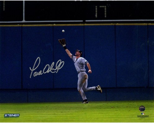 New York Yankees Paul ONeill Signed 1996 WS Game 5 Catch 8 x 10 Photo