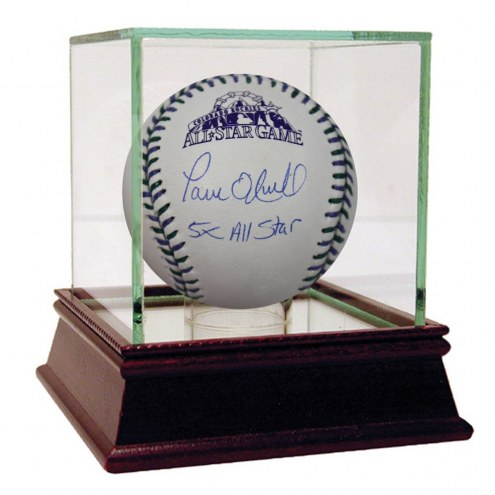 New York Yankees Paul ONeill Signed 1998 MLB All Star Baseball w/ 5X All Star
