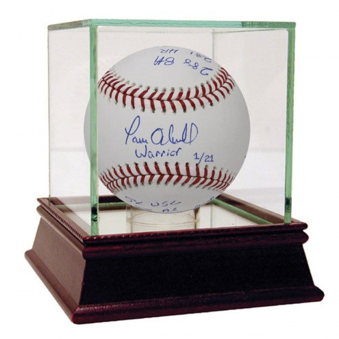 New York Yankees Paul ONeill Signed MLB Baseball with 7 Career Stats