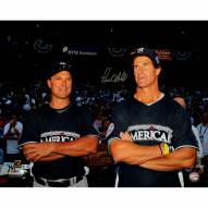 """New York Yankees Paul O'Neill with Tino Martinez at the All Star Game Signed 16"""" x 20"""" Photo"""