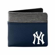 New York Yankees Pebble Bi-Fold Wallet