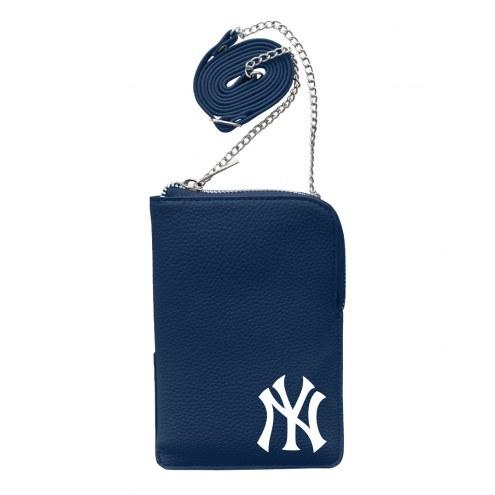New York Yankees Pebble Smart Purse