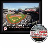 New York Yankees 11 x 14 Personalized Framed Stadium Print