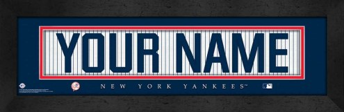 New York Yankees Personalized Stitched Jersey Print