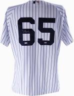 New York Yankees Phil Hughes Signed Authentic Home Jersey