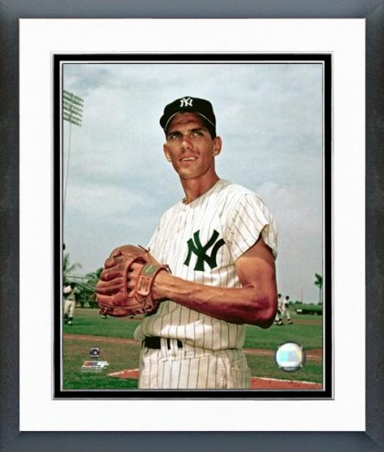 New York Yankees Phil Linz Posed Framed Photo