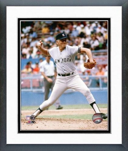 New York Yankees Phil Niekro Action Framed Photo