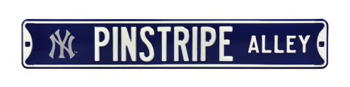 New York Yankees Pinstripe Alley Street Sign