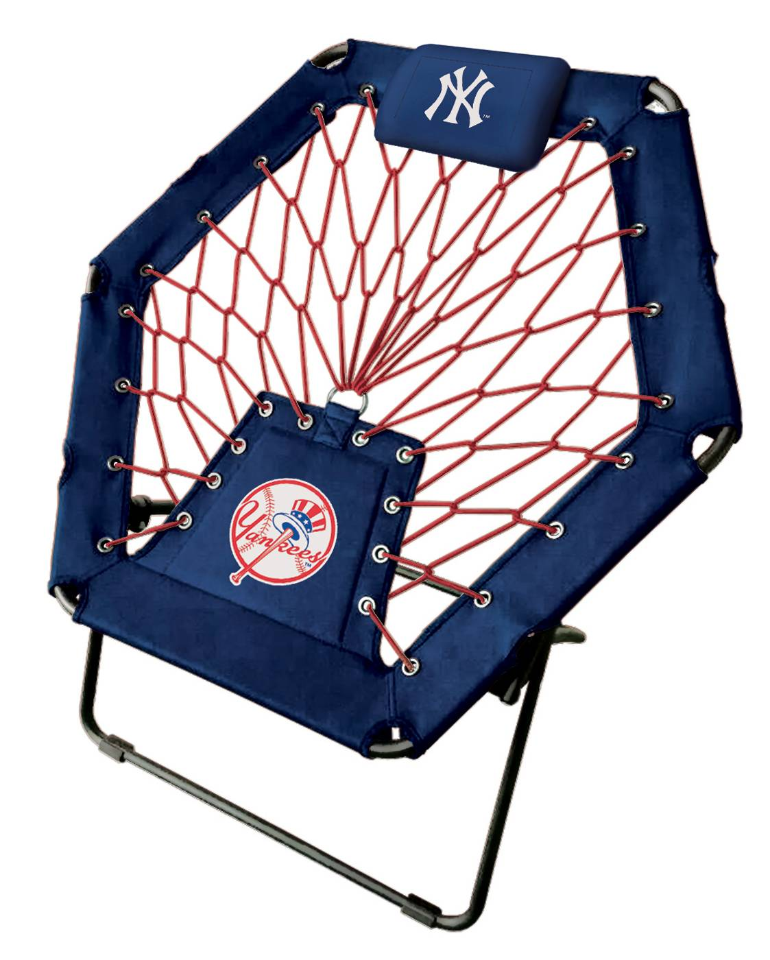 Superbe Great For Lounging Or Watching The Game, The New York Yankees Premium  Bungee Chair Is A Great Addition To The Fan Cave Or Dorm Room.