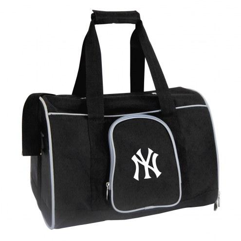 New York Yankees Premium Pet Carrier Bag