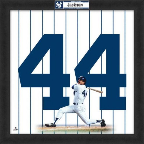 New York Yankees Reggie Jackson Uniframe Framed Jersey Photo