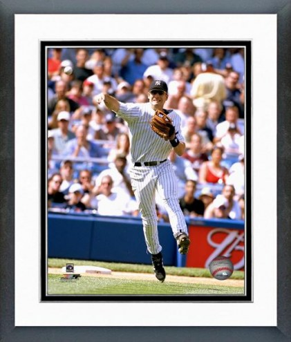 New York Yankees Robin Ventura Action Framed Photo