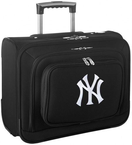 New York Yankees Rolling Laptop Overnighter Bag