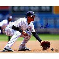 New York Yankees Ronald Torreyes Signed In the Field 8 x 10 Photo