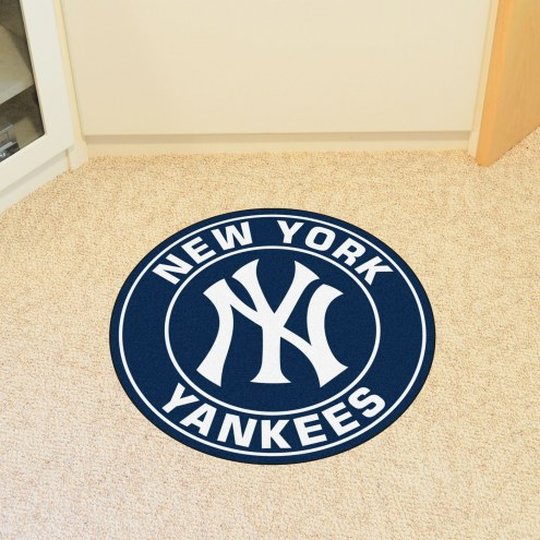 New York Yankees Rounded Mat