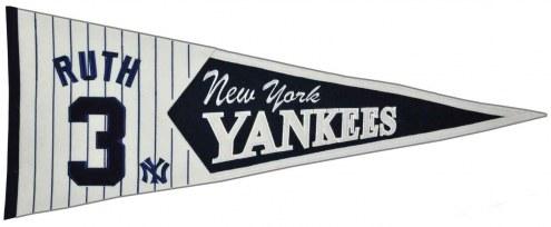 New York Yankees Ruth Legends Pennant