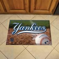 New York Yankees Scraper Door Mat