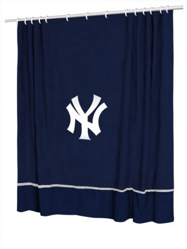 New York Yankees Sidelines Shower Curtain