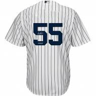 New York Yankees Sonny Gray Signed Authentic Flex Base Pinstripe Jersey w/ Pickles
