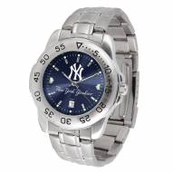 New York Yankees Sport Steel AnoChrome Men's Watch