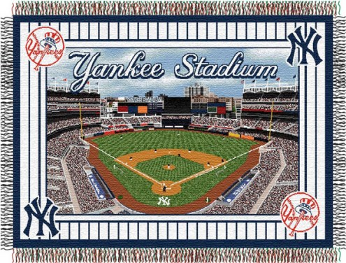 New York Yankees Stadium Throw Blanket