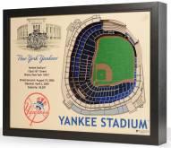 New York Yankees 25-Layer StadiumViews 3D Wall Art