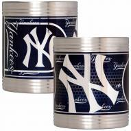 New York Yankees Stainless Steel Hi-Def Coozie Set