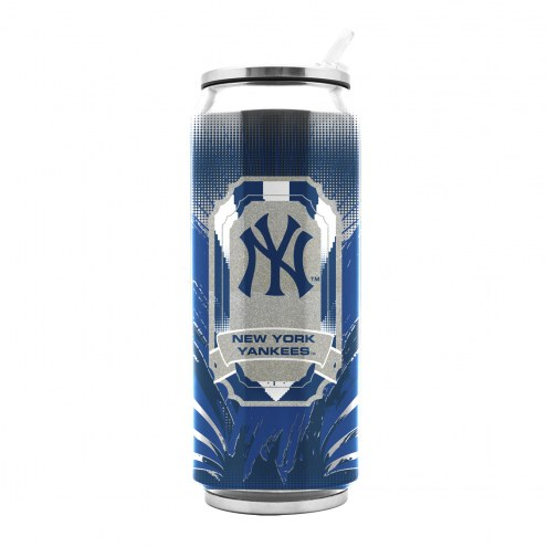 New York Yankees Stainless Steel Thermo Can