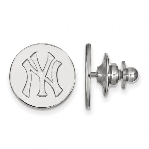 New York Yankees Sterling Silver Lapel Pin