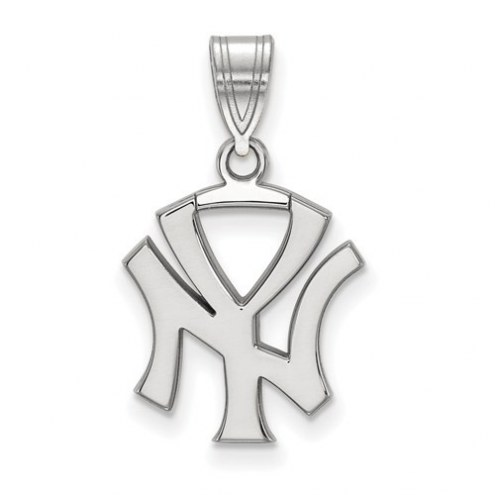 New York Yankees Sterling Silver Medium Pendant