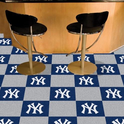 New York Yankees Team Carpet Tiles