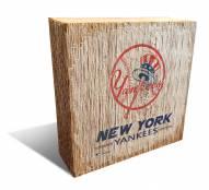 New York Yankees Team Logo Block