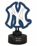 New York Yankees Team Logo Neon Light