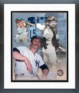 New York Yankees Thurman Munson Legends of the Game Framed Photo