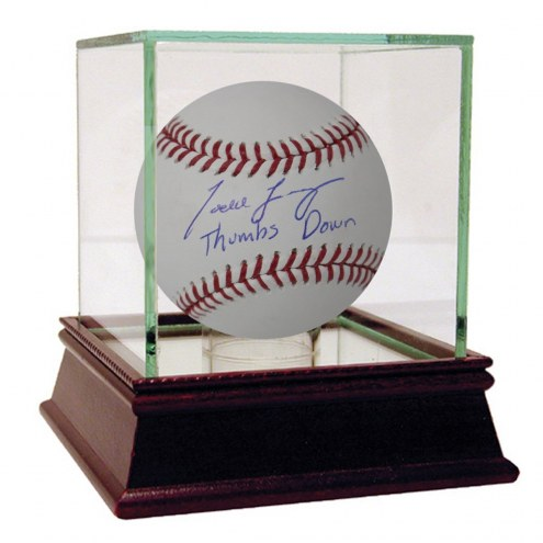 New York Yankees Todd Frazier Signed MLB Baseball w/ Thumbs Down